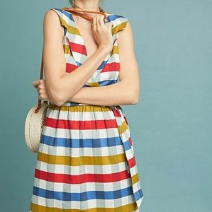 Anthropologie check dress